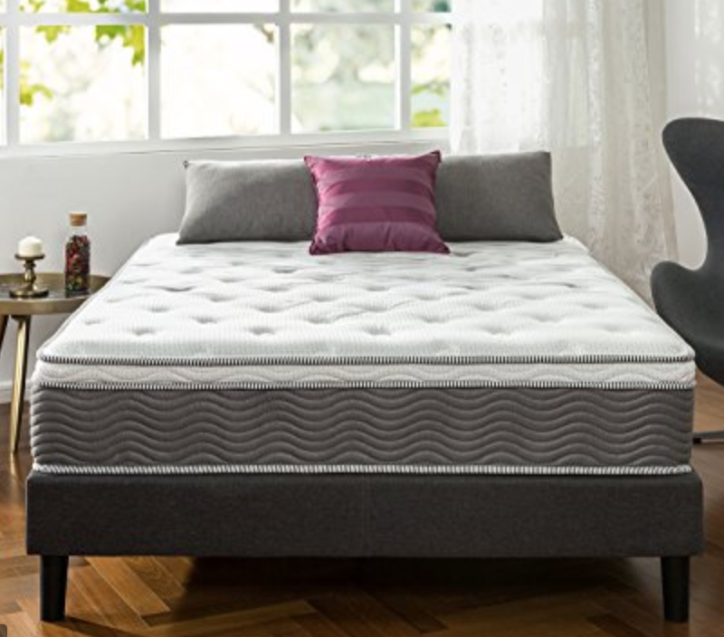 "12"" ICoil Extra Support Mattress"