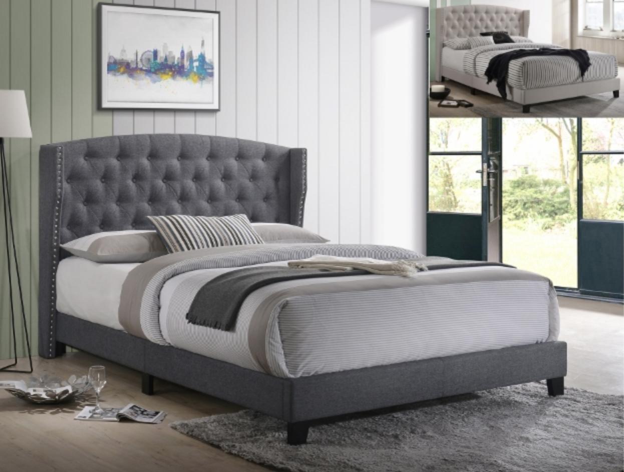 B5266 Queen Upholstery Platform Bed Frame