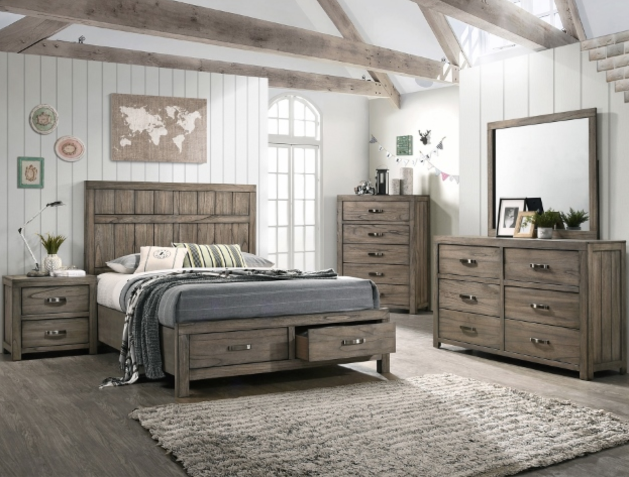 B5600 PLATFORM TRUNDLE BEDROOM SET