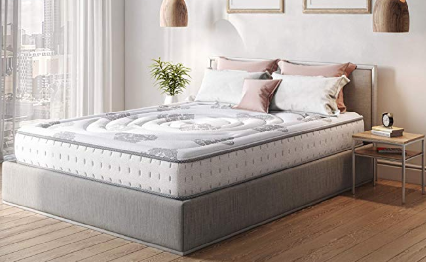 "10.5"" HYBRID COOL GEL MATTRESS"