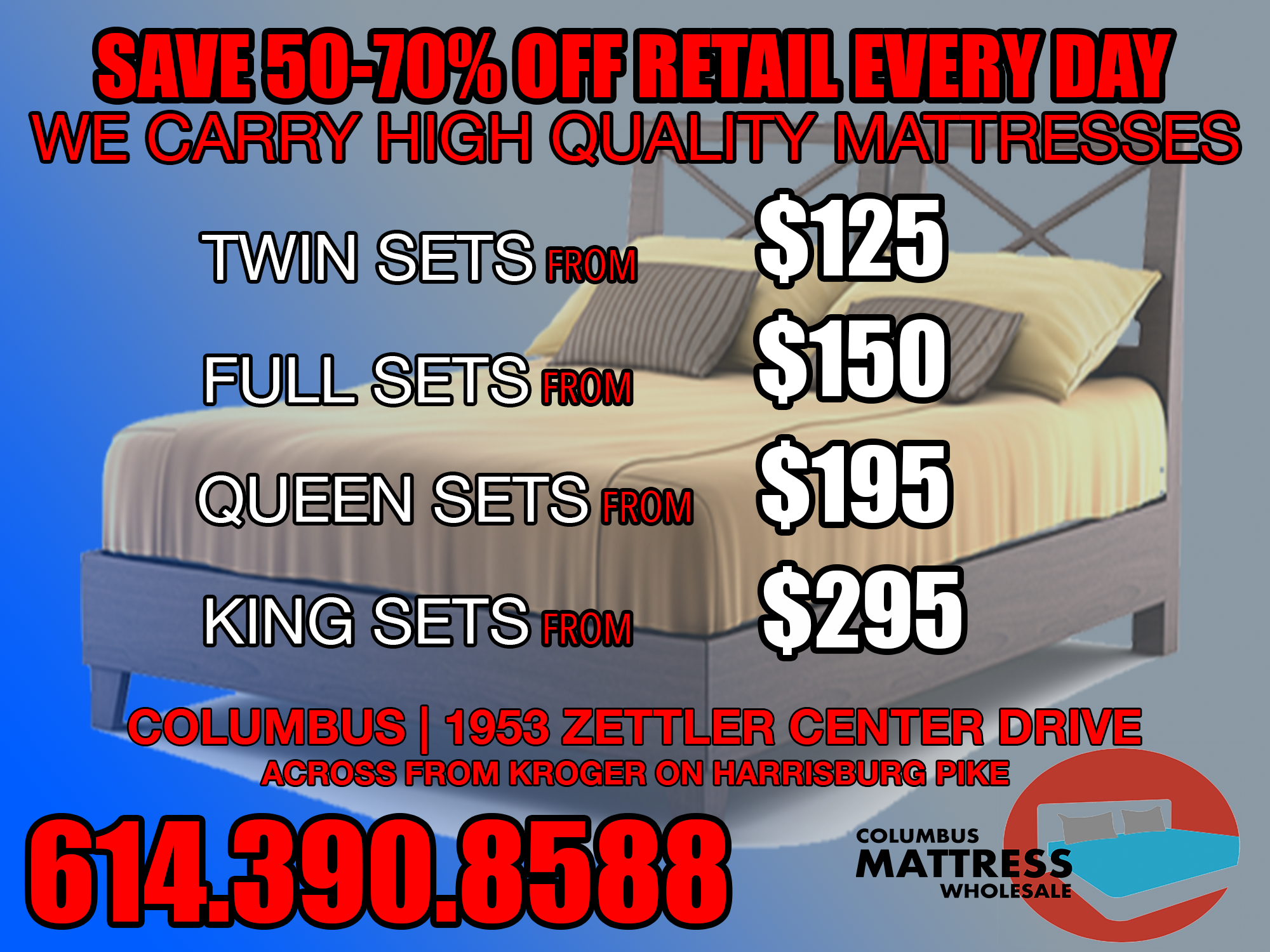 mattress deals columbus ohio