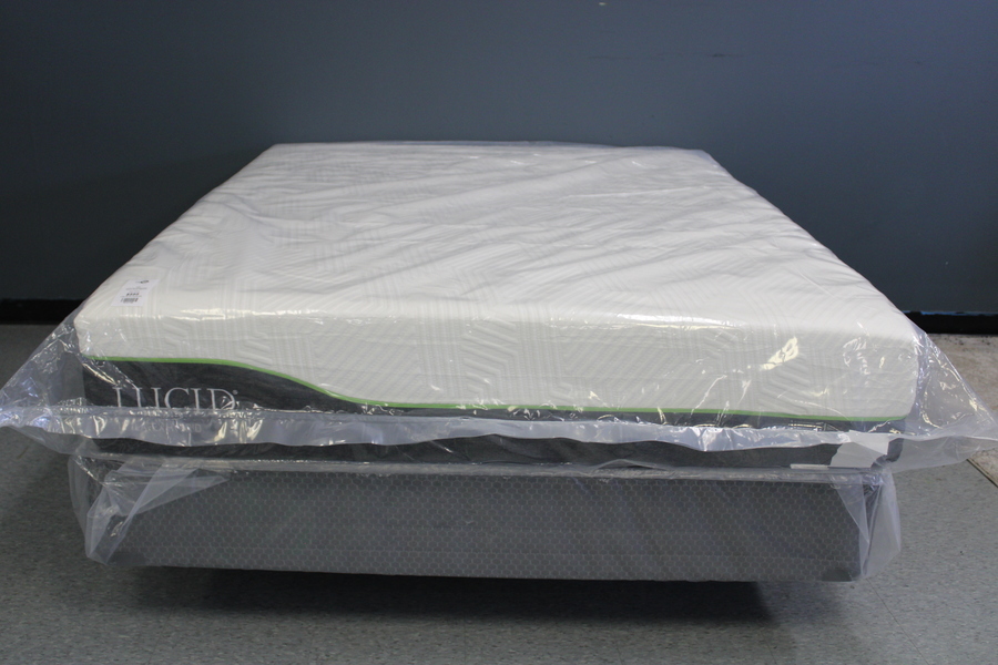 12 Latex+Memory Foam Infused Hybrid King Mattress