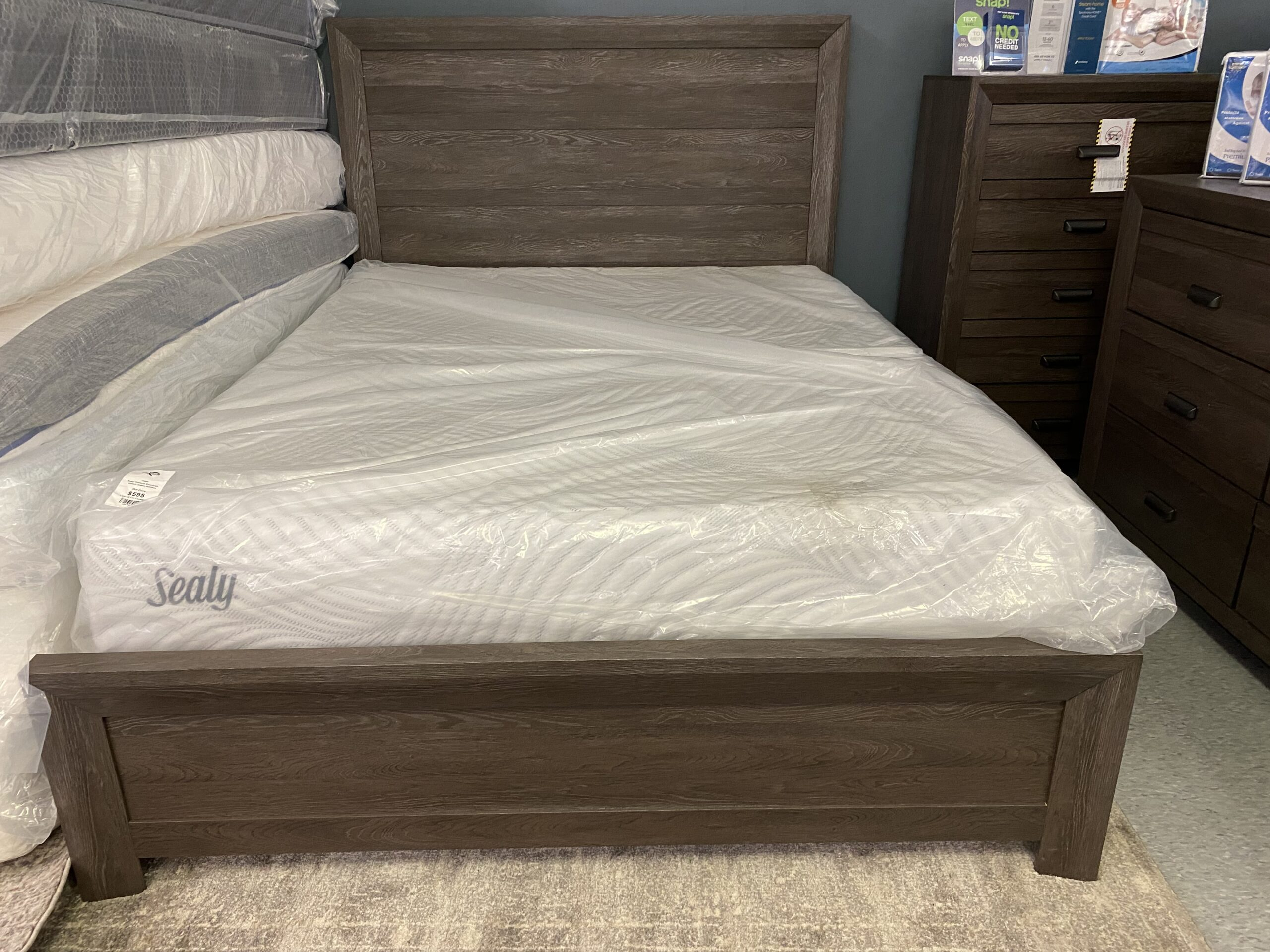 B-6700 King Bed Frame